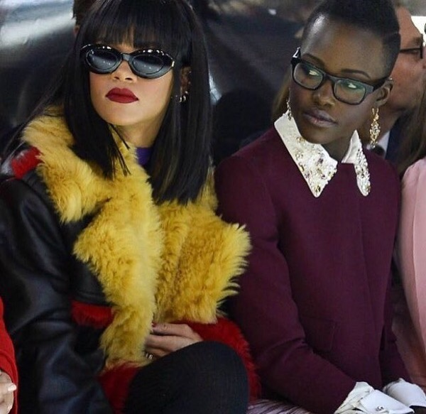 Lupita Nyong'o and Rihanna Are 'Down' to Star in the Action Movie of Twitter's Dreams