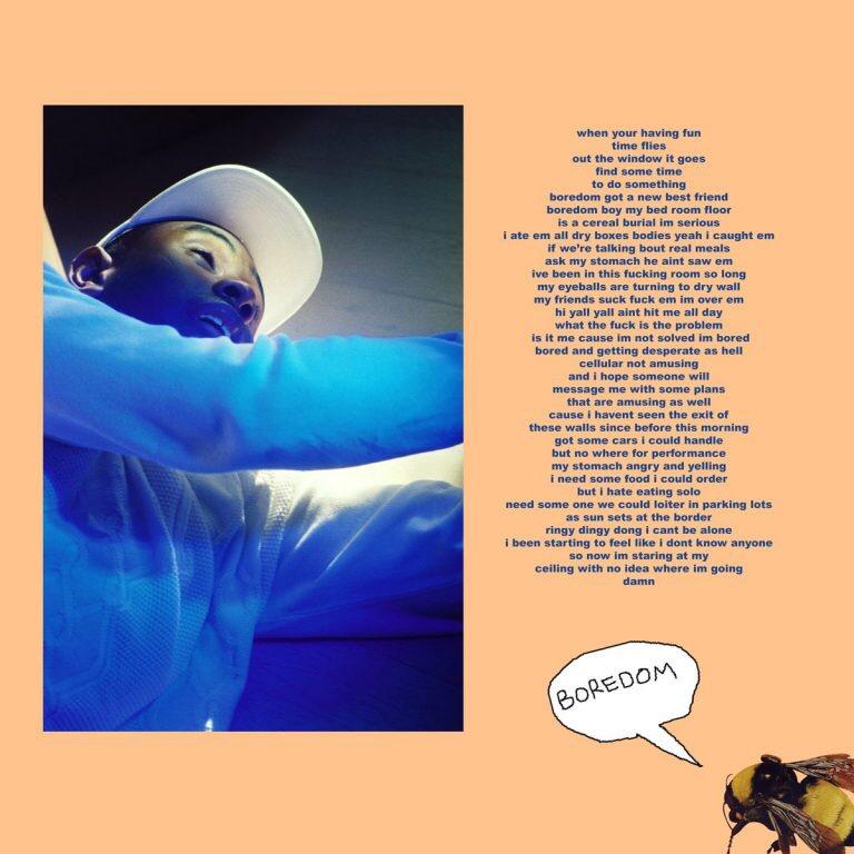 Download MP3: Tyler, The Creator – Boredom