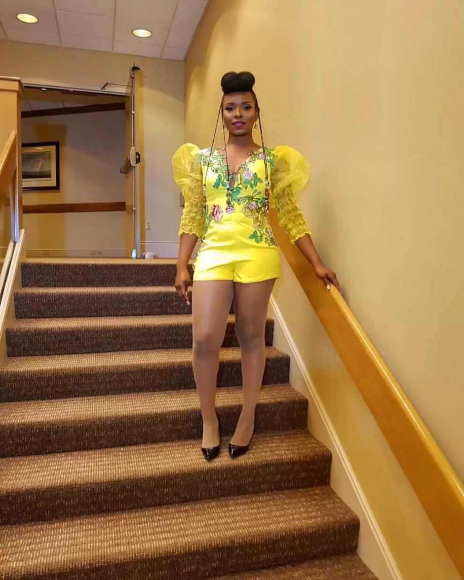 Yemi Alade's Bridal Outfit For Chicago Concert