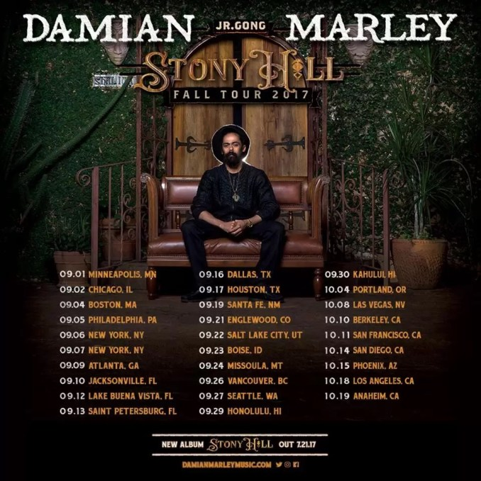 "Download Album: Damian ""Jr. Gong"" Marley – Stony Hill"