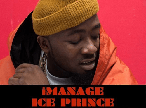 ICE PRINCE ZAMANI SIGNS TO TALENT MANAGEMENT COMPANY IMANAGEAFRICA