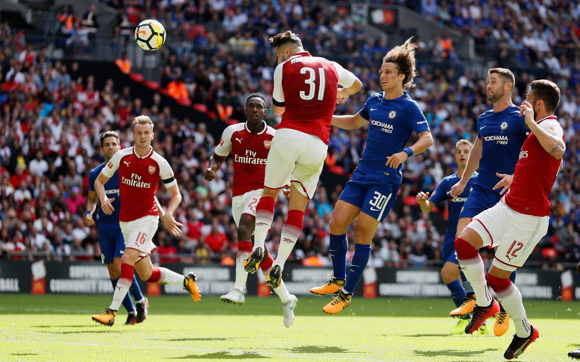Video: Arsenal V Chelsea 1:1 (4:1) 2017 All Goals and Highlights (Community Shield)