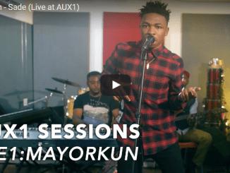 Watch Mayorkun Perform 'SADE' & 'ELEKO' Live At Aux1