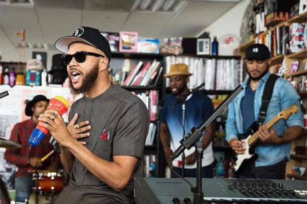 Watch Jidenna Impresses With NPR Tiny Desk Concert