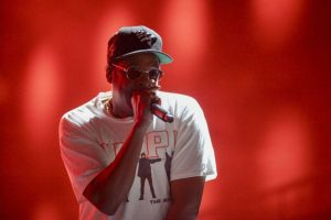 "Jay Z Dedicates ""The Story Of OJ"" To Colin Kaepernick At The Meadows Festival"