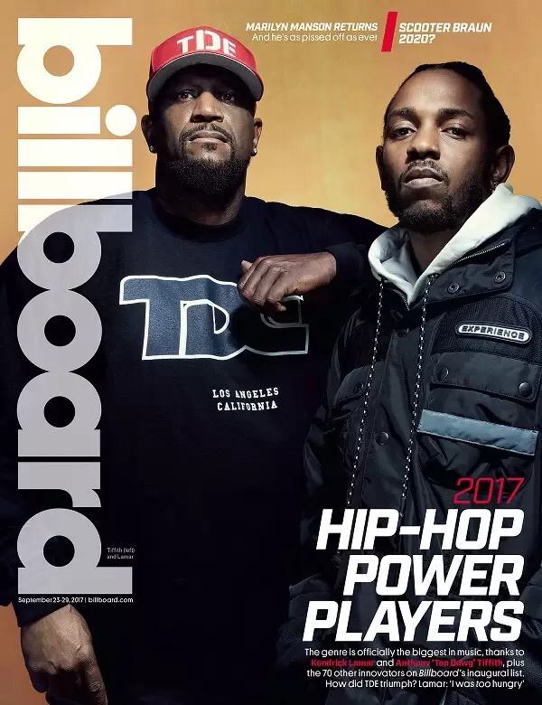 KENDRICK LAMAR & TOP DAWG COVER 'BILLBOARD'