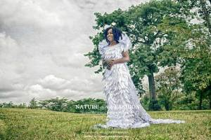 Nature Meets Fashion By Susan Rosemon (Dresses From Leaves)