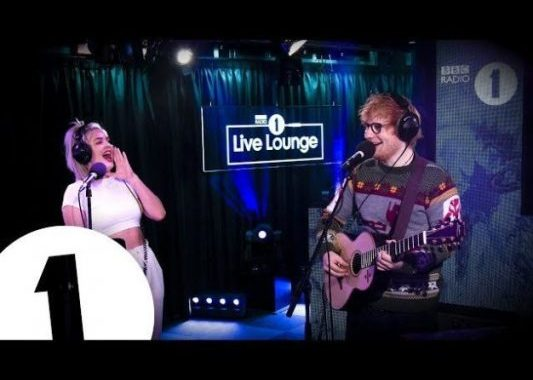 Ed Sheeran & Anne Marie – Fairytale Of New York