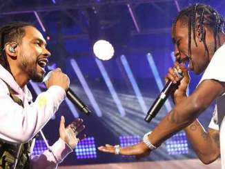 """Watch Miguel and Travi$ Scott perform """"Sky Walker"""" at Jimmy Kimmel Live"""