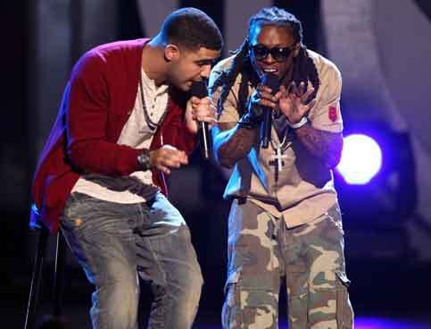 Drake & Lil Wayne Perform For A Crowd That Includes Odell Beckham Jr.