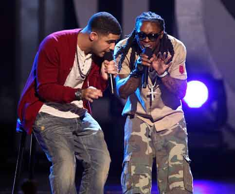 Drake & Lil Wayne Perform For A Crowd That Includes Odell Beckham Jr.