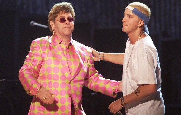 Elton John Interviews Eminem For 'Interview' Magazine