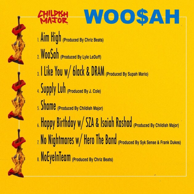 Childish Major - Woo$ah Album download