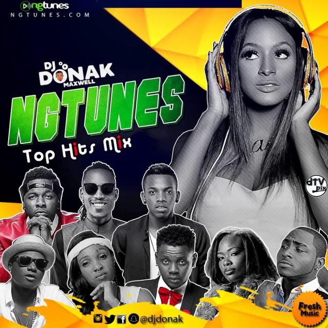 DJ Donak - NGTunes Top Hits Mix