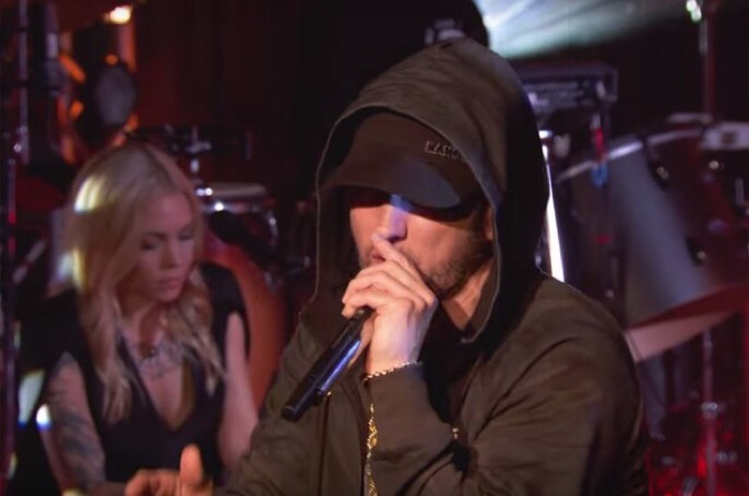 Eminem Performs Some Of His Hits On BBC 1