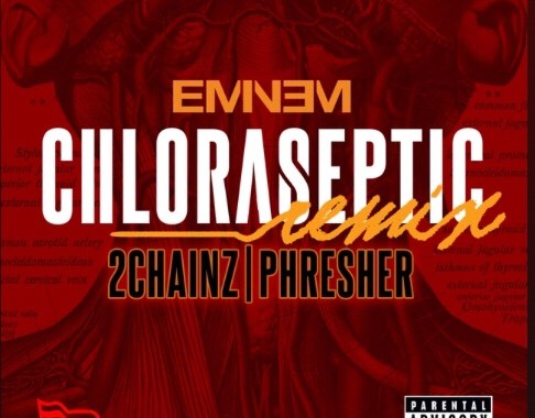 Download MP3: Eminem ft 2 Chains x Phresher – Chloraseptic Remix
