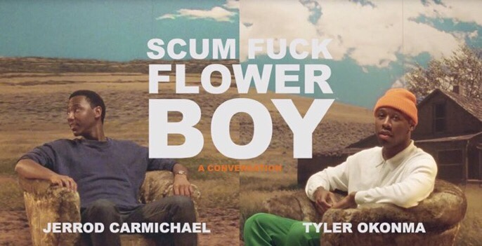 TYLER, THE CREATOR'S INTIMATE CHAT WITH JERROD CARMICHAEL (Video)