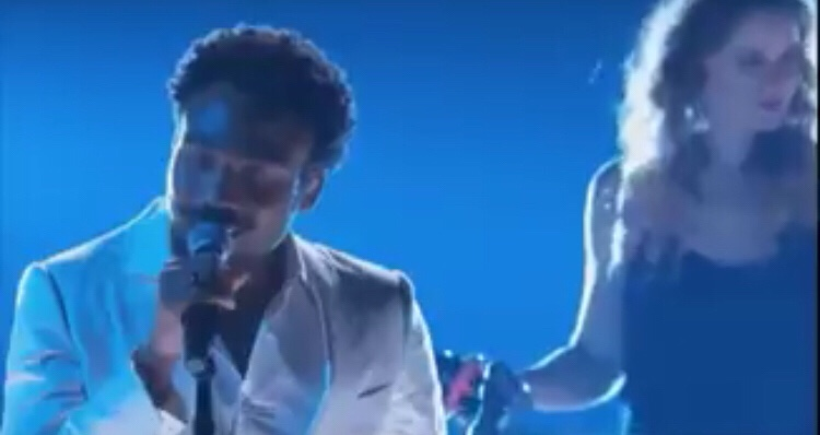 Childish Gambino Performs