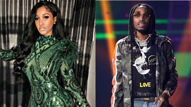 Quavo & Bernice Burgos Seen Together At All-Star Weekend
