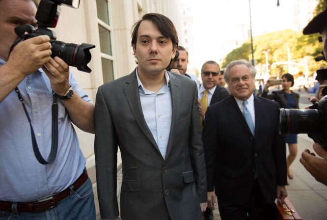 Martin Shkreli Has Been Sentenced 7 Years In Federal Prison