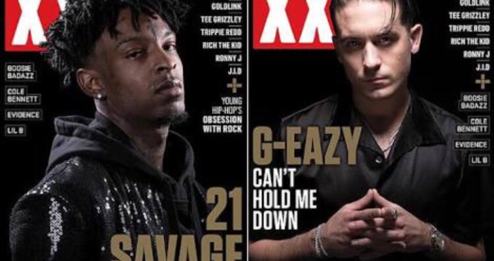 G-Eazy & 21 Savage Cover XXL's Spring 2018 Issue