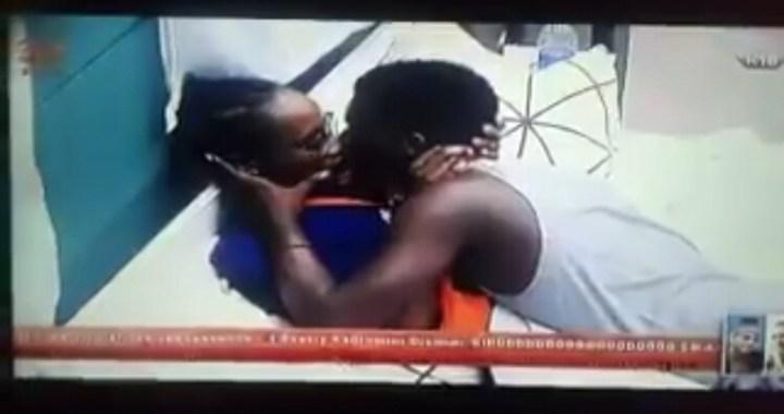 #BBnaija: Lolu and Anto Share a Kiss