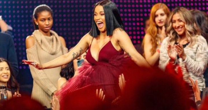 "Cardi B Reveals Baby Bump During ""SNL"" Performance (Watch)"