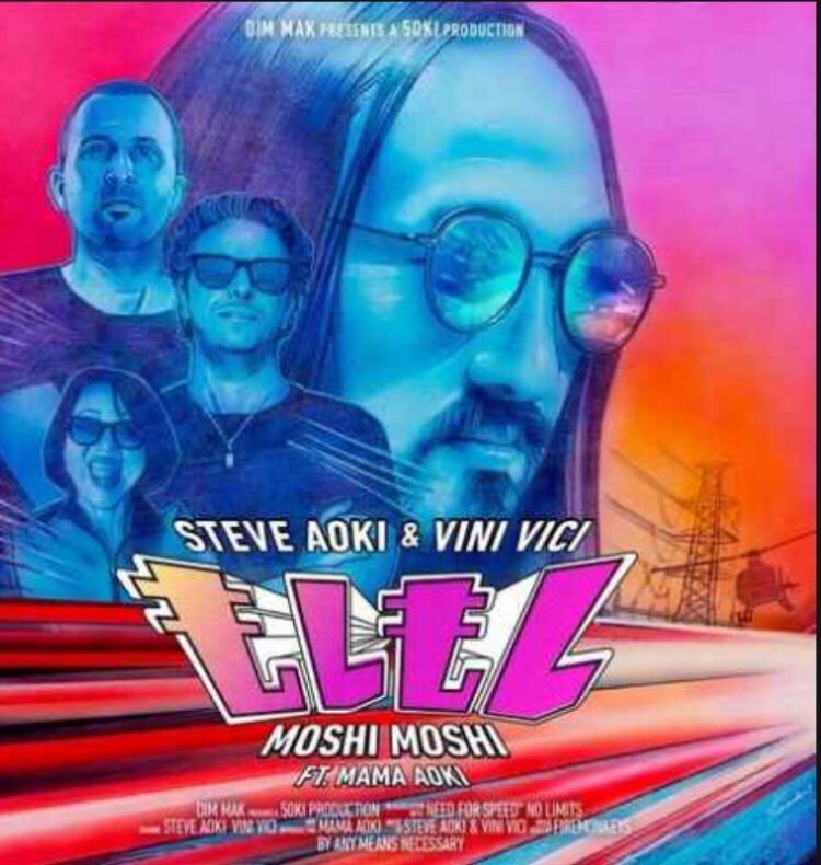 Steve Aoki & Vini Vici ft. Mama Aoki - Moshi Moshi mp3 download