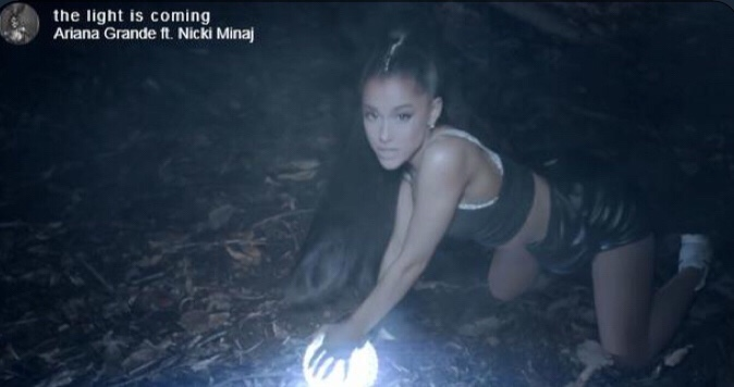 Ariana Grande ft. Nicki Minaj - The Light Is Coming (Video)