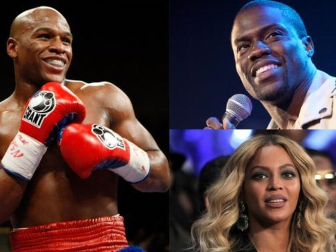 Floyd Mayweather Jnr Tops Forbes List Of Highest Paid Celebrities