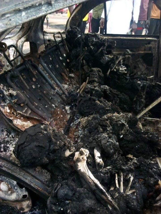 Fresh Graduate burnt to death two weeks before her NYSC in Kogi accident (graphic photos)