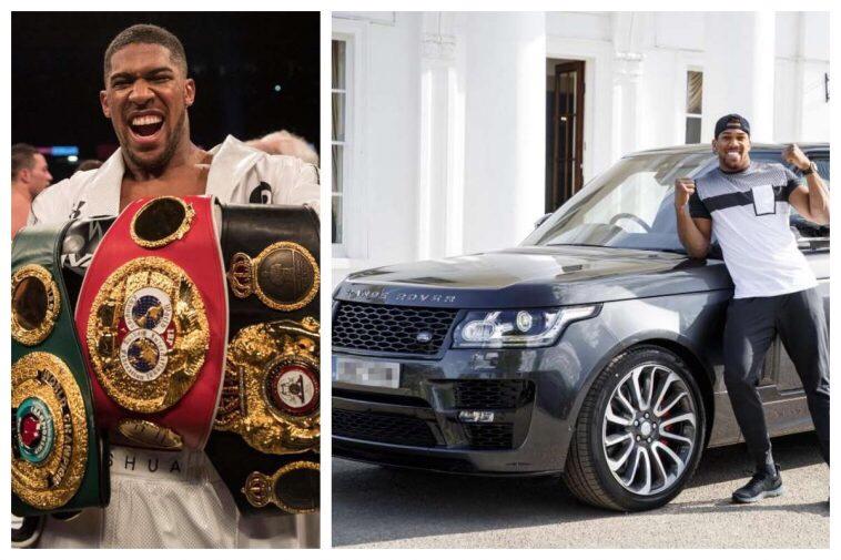 Anthony Joshua's £150k custom-built Land Rover stolen
