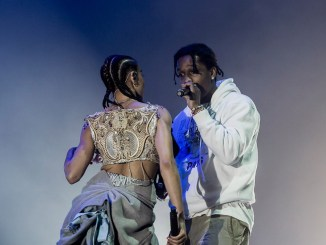 FKA Twigs performs with A$AP Rocky in New York