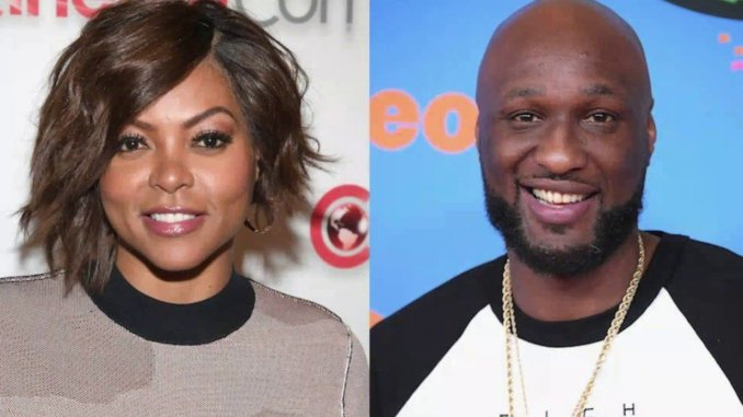 Lamar Odom Cheated On Taraji P. Henson
