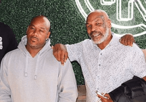 VIDEO FOOTAGE OF MIKE TYSON PUNCHING WACK100