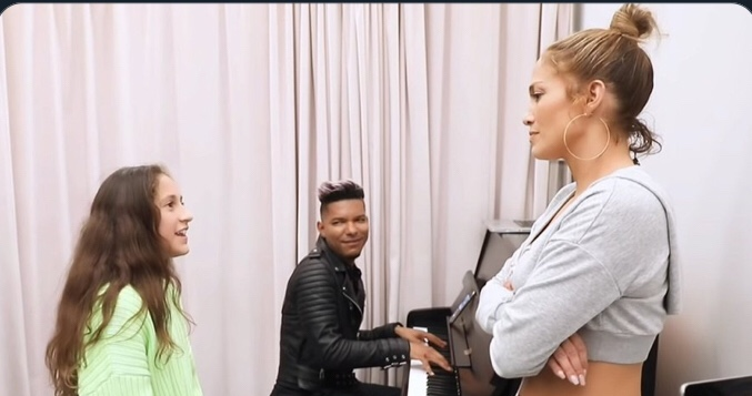Jennifer Lopez's 11-Year-Old Daughter Emme Showcases Her Vocal Talents with Alicia Keys Song