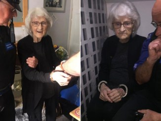 93-Year-Old Woman's Dying Wish Of Being Arrested