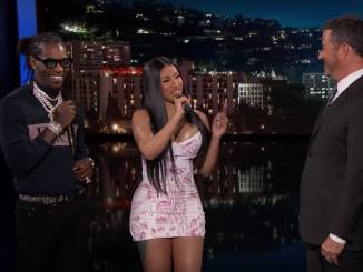 "Cardi B & Offset Explain The Lyrics To ""Clout"" On Jimmy Kimmel"