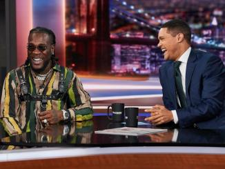 Burna Boy Talks New Album, performs Ye on Trevor Noah The Daily Show show