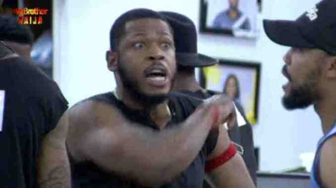 Seyi and Frodd Fight Over Alcohol