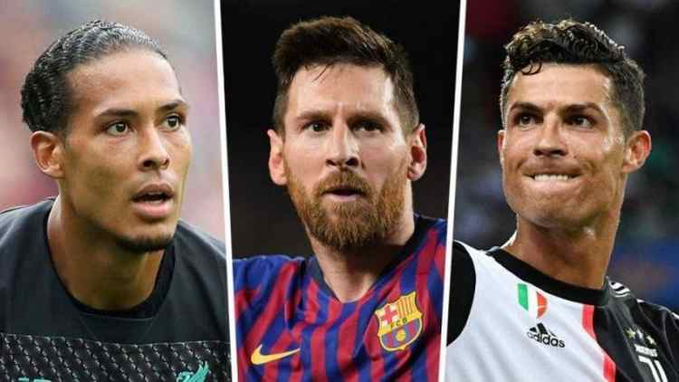 Messi, van Dijk & Ronaldo Nominated In Final 3 For FIFA Best Player Award