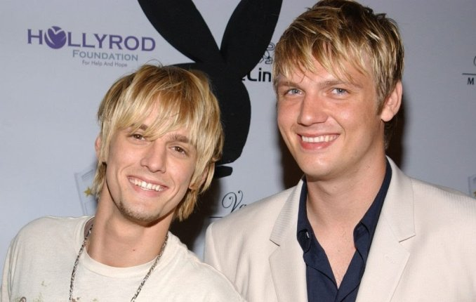 Aaron Carter replies his brother Nick's claim he 'threatened to kill his wife and child':