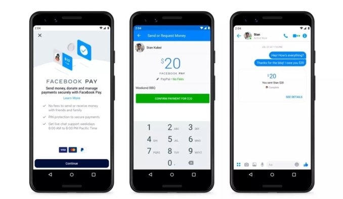 Facebook Pay - new payment system for WhatsApp, Instagram, and Facebook
