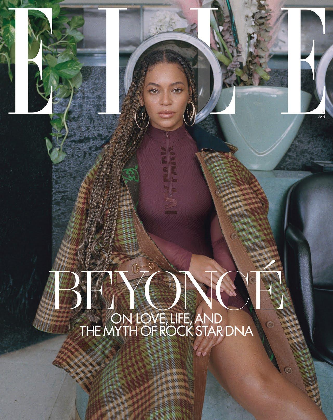 Beyoncé Covers Elle  January; talks Life, Love and Those Pregnancy Rumors