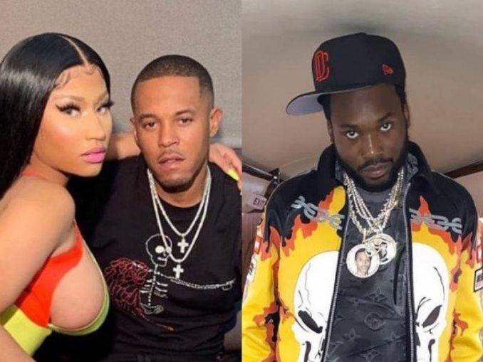 Video of Meek Mill Nicki Minaj's Child Rapist Husband in Hollywood