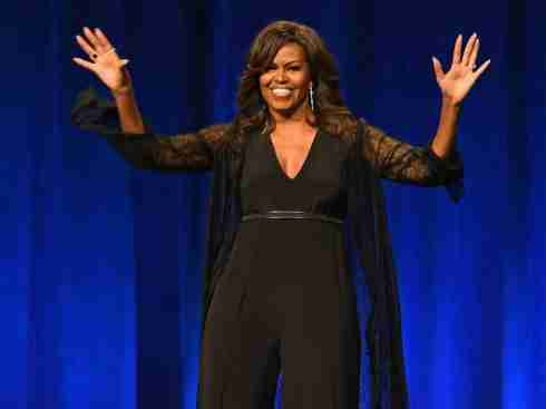 Michelle Obama Tags Beyoncé 'The Queen' At The BET Awards