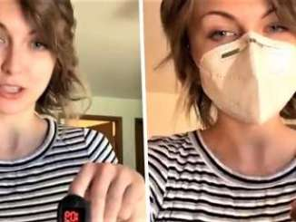 TikToker With Breathing Problems Shuts Down Face Mask Argument