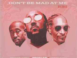 Problem Ft. Freddie Gibbs & Snoop Dogg – Don't Be Mad At Me (Remix)
