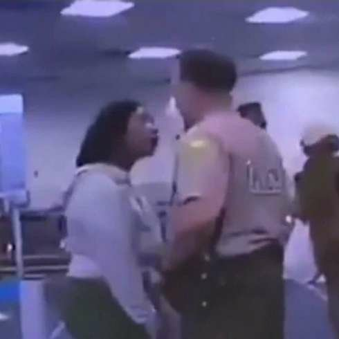 A Florida officer has been fired after punching Black woman in viral video.
