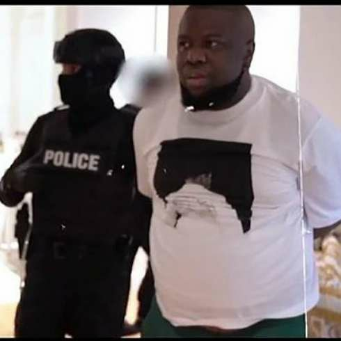 Dubai Police Deliver Hushpuppi & Woodberry To FBI